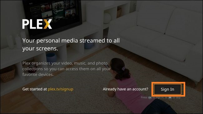 Plex on Amazon Fire TV