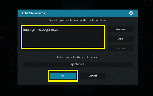 File Source on Kodi