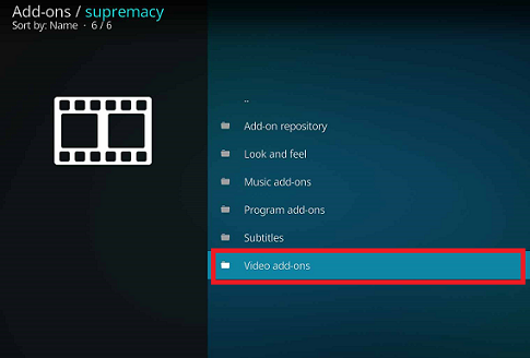 Supremacy Addon on Kodi Leia