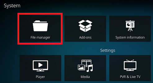 System Settings On Kodi Leia
