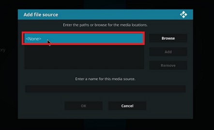 Add Source In Kodi